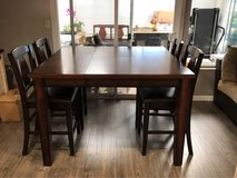 Pub Style Dinette Set with Butterfly Leaf in Travis AFB, California