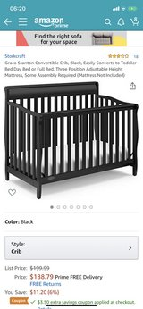 graco 4 in 1 crib with mattress in Ramstein, Germany