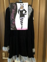 NEW RACY RACOON halloween costume womens size M/L 10-14 in Okinawa, Japan