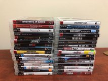 32 Playstation 3 Games Lot in St. Charles, Illinois