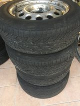 FREE TIRES!  185/60 R14  - Set of Four (4) Tires on Rims in Ramstein, Germany