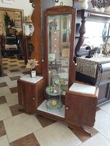 Antique English Oak Marble top Vanity in Fort Leonard Wood, Missouri