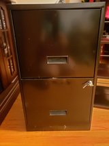 2 drawer file cabinet with keys in Fort Campbell, Kentucky
