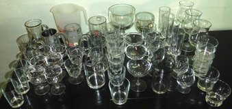 STOCK THE BAR! 53pc Beer Mugs Pitcher Wine + Assorted Barware Glasses in Joliet, Illinois