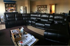 leather sectional couch in Ramstein, Germany