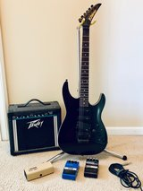 Kramer Guitar with Peavey amp and DoD pedals in Waukegan, Illinois
