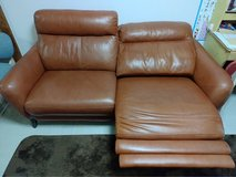 Electric  leather Couch in Okinawa, Japan
