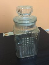 Clear glass jar in Naperville, Illinois