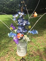 Farmers Market Milkcan Arrangement. in Elizabethtown, Kentucky