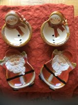 Santa and the snowman serving set in Ramstein, Germany