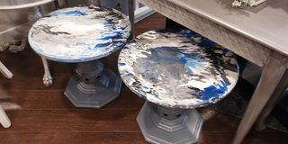 Acrylic Pour Tables in Naperville, Illinois