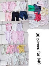 0-3 month baby girl clothes in Westmont, Illinois