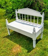 antique indoor and outdoor bench in Cherry Point, North Carolina