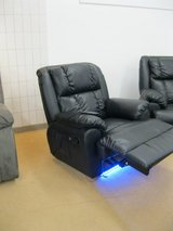 United Furniture - Massage Recliner with LED Lights including Delivery in Spangdahlem, Germany