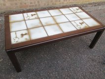 VINTAGE TILED TOP COFFEE TABLE in Lakenheath, UK