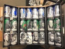 Star Wars Pepsi Can Collection in Moody AFB, Georgia