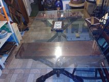 Beautiful One Of a Kind Custom Made Viking Inspired Dining Room Table in Pasadena, Texas