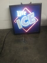 neon miller ice sign in Pasadena, Texas