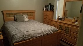 Ashley's Queen Bed 4-piece set in Yucca Valley, California