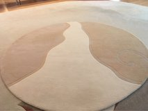 8.6' round heavy wool area rug in Algonquin, Illinois