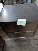 Two drawer wooden table in 29 Palms, California