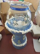 Snow man Globe Candle Holder in Fort Knox, Kentucky