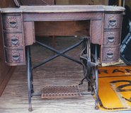 Antique sewing cabinet in Glendale Heights, Illinois