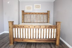 "King Size Bed - Solid Wood ""The Pueblo Viejo Collection"" in Kingwood, Texas"