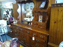 Solid Pine Dresser with Lighted Mirror in Oswego, Illinois