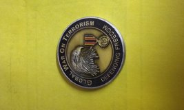 Global war on terrorism coin in Cherry Point, North Carolina