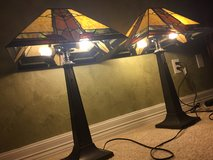 2 - Tiffany style lamps (pair) in Cleveland, Texas