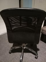 Black Leather office desk chair excellent condition in 29 Palms, California