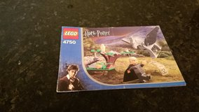 Lego Harry Potter Instruction Book in Chicago, Illinois