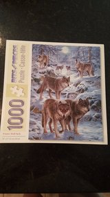 Bits & Pieces 1000 Piece Puzzle Wolves in Yorkville, Illinois