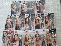 WWE Action Figures Womens Division in Camp Lejeune, North Carolina