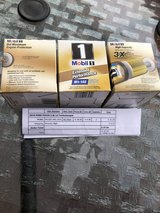 3 Mobil 1 oil filters Ford Focus in Ramstein, Germany