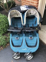 Baby jogger city mini GT double stroller in Oswego, Illinois