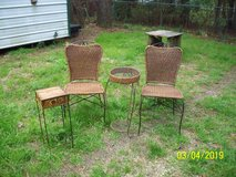 Wicker Chairs(2) and 2 end tables in Fort Polk, Louisiana