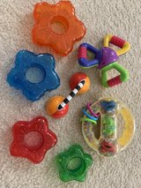 Set of 7 Infant Baby Noise Colorful Rattles Sensory in Naperville, Illinois