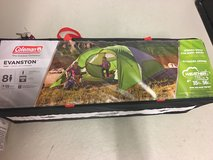 Coleman 8 person tent; never used in Stuttgart, GE