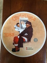 Norman Rockwell Christmas Plates 2 of 2 in Alamogordo, New Mexico