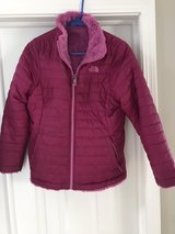 Girls North Face coat XL 18 in Plainfield, Illinois