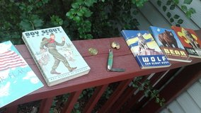 Vintage 1950's Cub Scout Boy Scout Handbooks Scarf Clip Pocket  Knife &Token in Chicago, Illinois