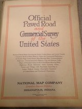 Official Paved Road and Commercial Survey of the US in Bartlett, Illinois