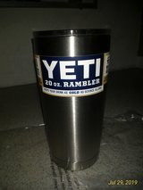 BN YETI Rambler 20 oz Stainless Steel Vacuum Insulated Tumbler w/MagSlider Lid in Ramstein, Germany