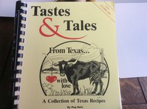 Tastes and Tales from Texas cookbook in Ramstein, Germany