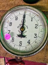 Antique scale in Cherry Point, North Carolina