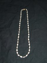 "Baroque Pearl Necklace / 14K Gold Clasp & Beads ~ 18"" ~ in Naperville, Illinois"