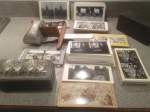 Antique Stereopticon Card Viewer & cards in Oswego, Illinois