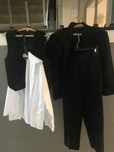 Boys size 6 suit with vest and dress shirt in Oswego, Illinois